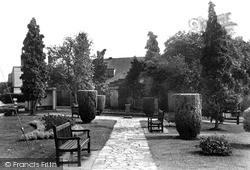 Tenterden, East Cross Gardens c.1955