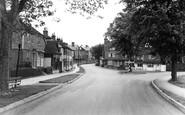 Tenterden, Golden Square as seen from Oaks Road c1960