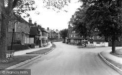 Tenterden, Golden Square As Seen From Oaks Road c.1960