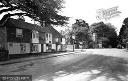 Tenterden, Heronden Gate And The William Caxton c.1955