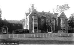 Tenterden, Heronden Hall 1901