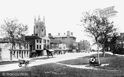 Tenterden, High Street 1900