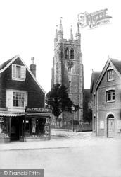Tenterden, St Mildred's Church Tower 1903