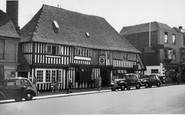Tenterden, the Tudor Rose Tea Rooms c1950