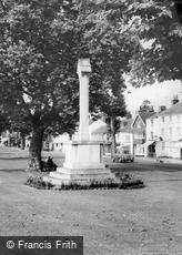 Tenterden, the War Memorial c1965