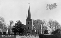 Teston, Church Of St Peter And St Paul c.1955