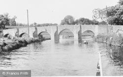 The Bridge c.1955, Teston