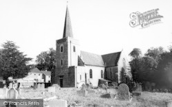 The Church Of St Peter And St Paul c.1963, Teston