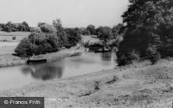 The Medway At Tutsham c.1965, Teston