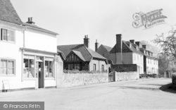 The Post Office And Village c.1955, Teston