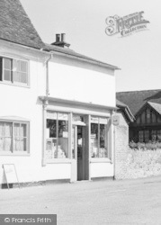 Teston, The Post Office c.1955