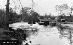 Teston, The River c.1955