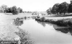 Teston, The River Medway c.1963