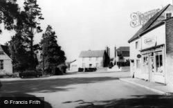 Teston, The Village Square c.1965