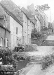 Tetbury, Chipping Steps c.1950