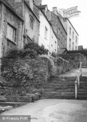Tetbury, Chipping Steps c.1955