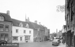 Tetbury, Church Street c.1955