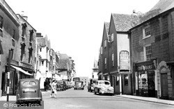 Church Street c.1960, Tetbury