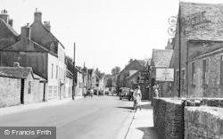 Tetbury, Hampton Street c.1955