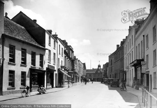 Tetbury, Long Street 1949