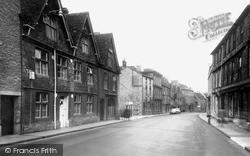 Long Street c.1960, Tetbury