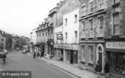 Tetbury, Long Street c.1960