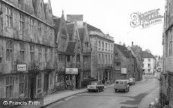 Tetbury, Long Street c.1965