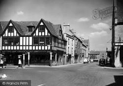 Long Street Corner c.1955, Tetbury