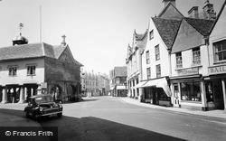 Tetbury, Market Place c.1960