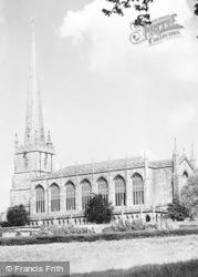 Tetbury, St Mary's Church c.1955