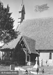 Tetbury, St Saviour's Church c.1955