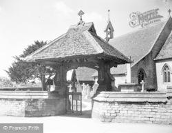 Tetbury, St Saviour's Church, Lych Gate c.1955