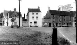 The Green c.1965, Tetbury