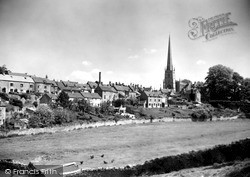 View From Cutwell c.1955, Tetbury
