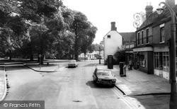 Tettenhall, Post Office And Upper Green c.1965