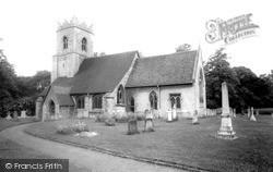 Teversham, All Saints Church c.1965