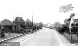Teversham, High Street c.1960