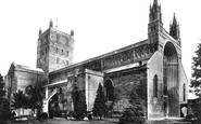 Tewkesbury, Abbey 1893