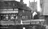 Tewkesbury, Abbey And River Avon 1907