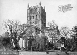 Tewkesbury, Abbey c.1869