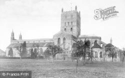 Tewkesbury, Abbey c.1955