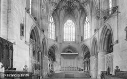 Tewkesbury, Abbey, Choir And Chancel c.1955