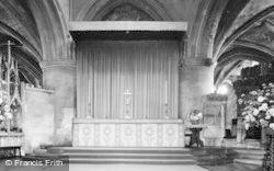 Tewkesbury, Abbey, High Altar c.1955