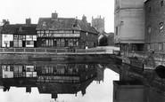 Tewkesbury, Abbey Mills 1923
