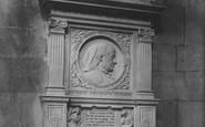 Tewkesbury, Abbey, Mrs Craik's Memorial 1891