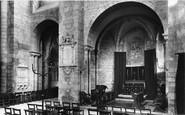 Tewkesbury, Abbey, Norman Chapel 1891