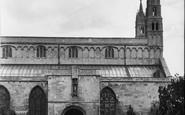 Tewkesbury, Abbey, Norman Door 1938