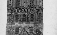 Tewkesbury, Abbey, Norman Tower 1893