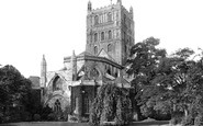 Tewkesbury, Abbey, North East 1891