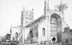 Tewkesbury, Abbey, North West c.1869